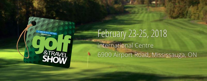 Toronto Golf & Travel Show Info