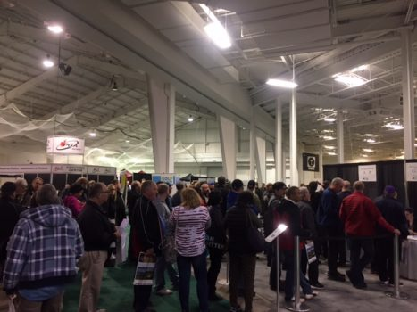 Crowd at Golf Show