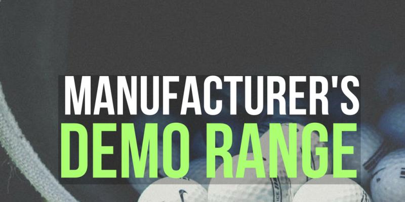 Manufacturer's Demo Range is BACK!