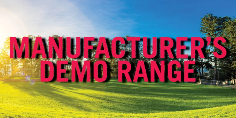 Manufacturer's Demo Range is BACK!