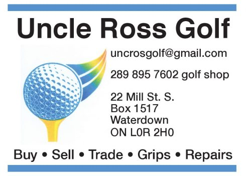 Uncle Ross Golf page