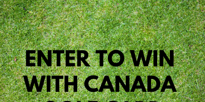 Canada Golf Card Turf Chopper Giveaway!